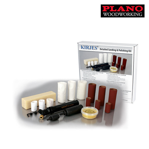 [플라노]커예스 기본 샌딩 키트 KIRJES Sanding and Polishing System KJ140R140